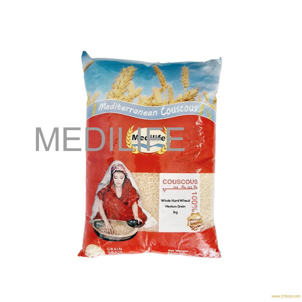 Durum Wheat Semolina Couscous, Middle Grain Couscous 1 kg