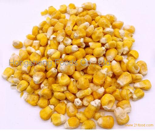 Premium quality air dried vegetables yellow sweet corn for sale