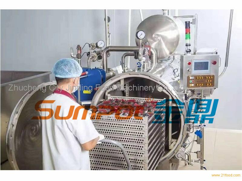 SUMPOT water spray retort for pouch