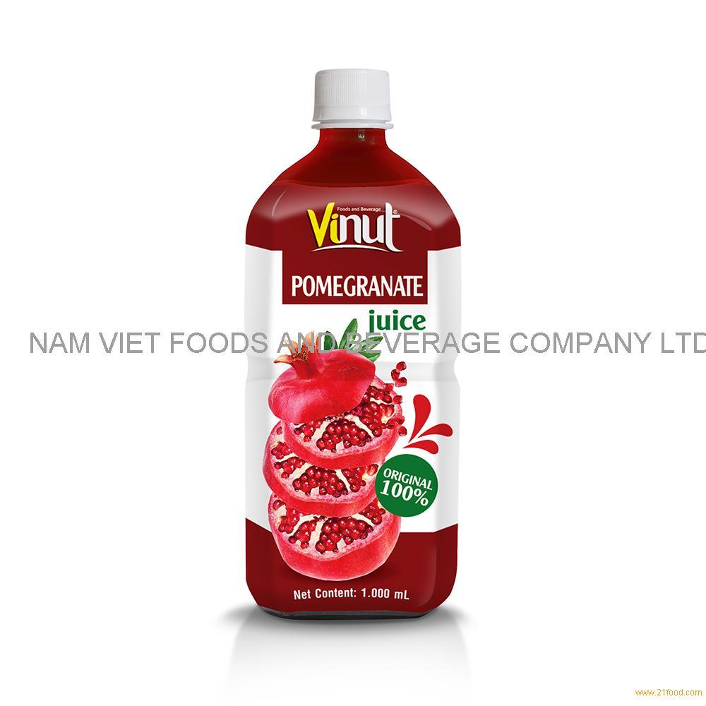 1000ml 100% Original Bottle Pomegranate juice drink