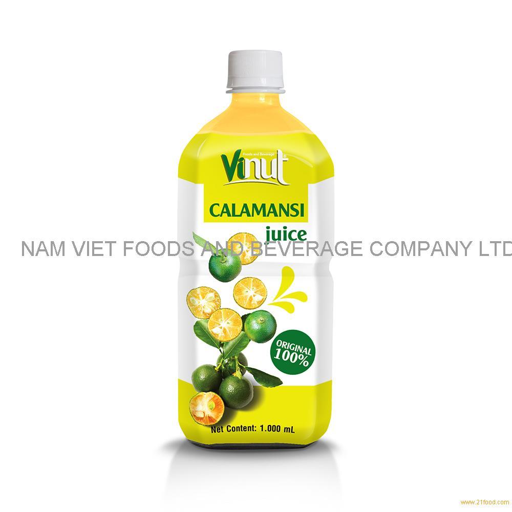 1000ml 100% Original Bottle Calamansi juice drink