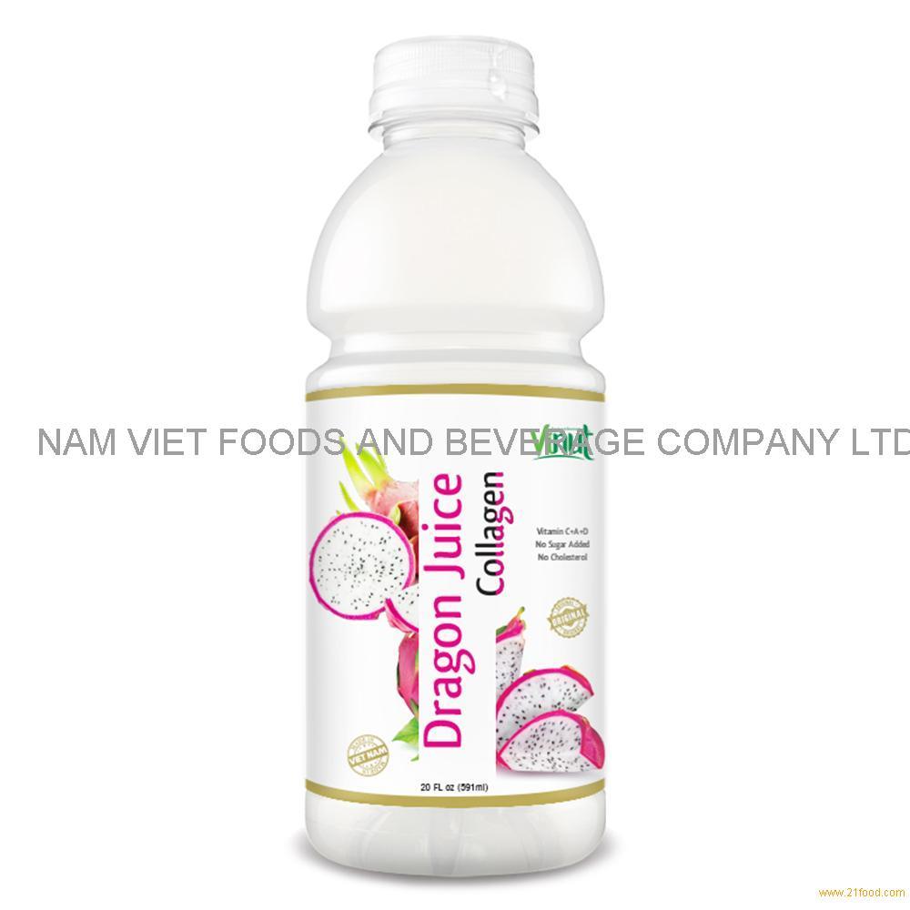 20 fl oz VINUT Bottle Dragon Juice with Collagen