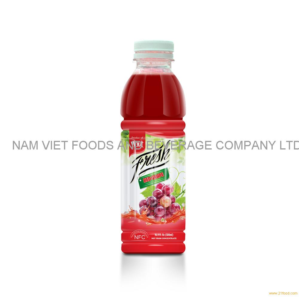 16.9 fl oz VINUT Bottle Fresh Red Grape Juice Drink