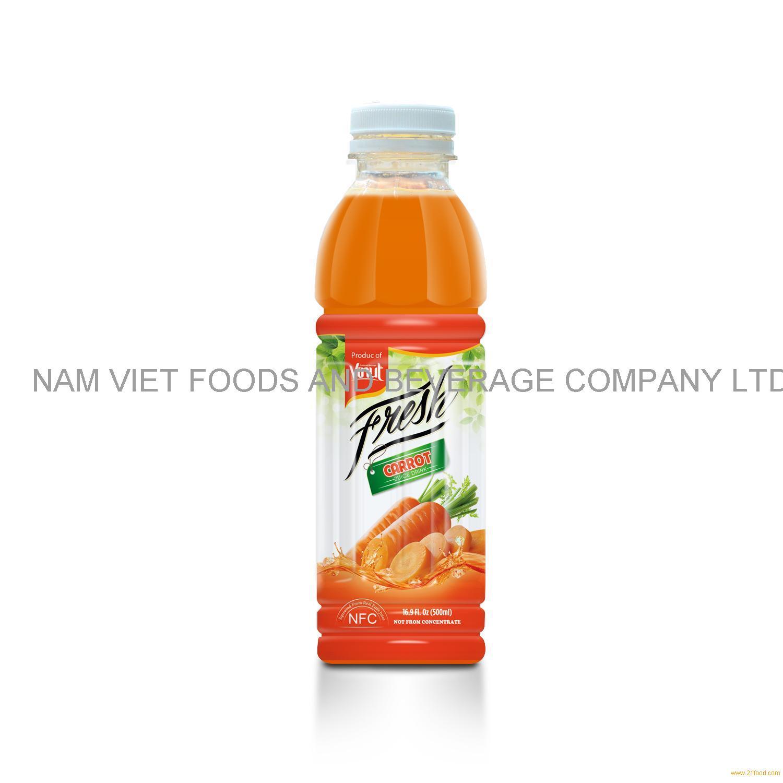 16.9 fl oz VINUT Bottle Fresh Carrot Juice Drink