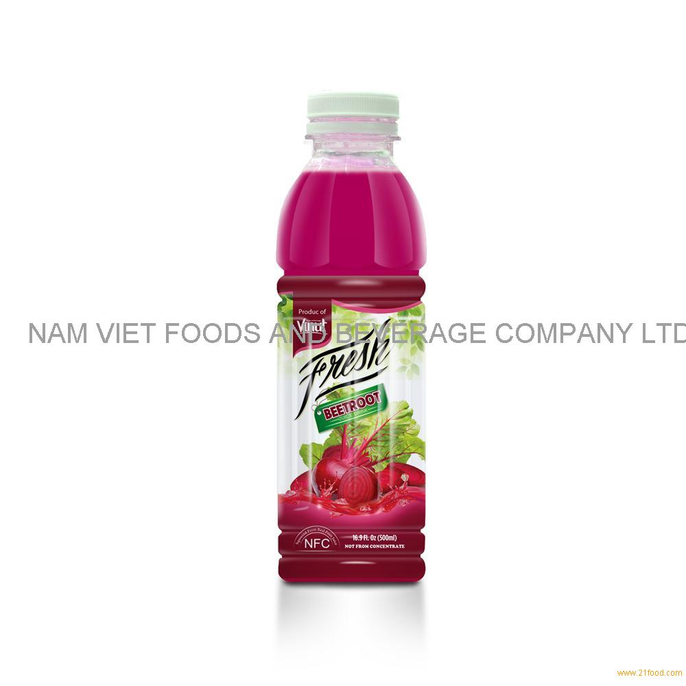 16.9 fl oz VINUT Bottle Fresh Beetroot Juice Drink