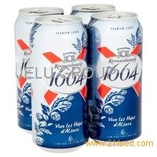 French kronenbourg 1664 Blanc Beer (25cl / 33cl Bottles / 50cl Cans)