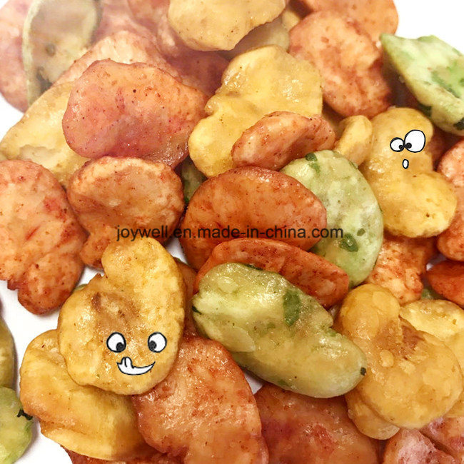 Mixed Broad Bean/Fava Beans Roasted Coated Colorful Welcome Kid Healthy Snacks