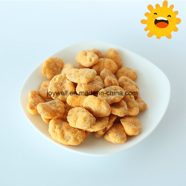 Healthy Broad Bean/Fava Beans Roasted Coated with Crab Flavor Sale in Bulk Packing