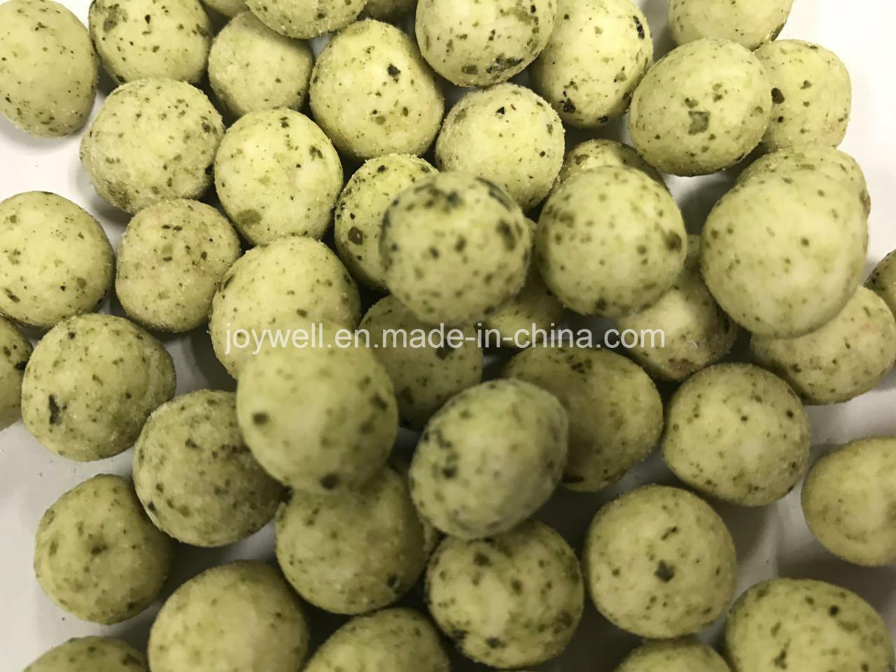 Seaweed Flavor Coated Green Peas Big Size OEM Package