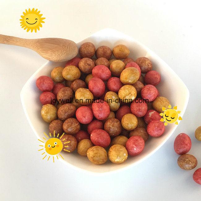 Colorful Coated Peanuts Roasted OEM Bulk Packing Full