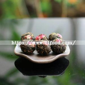 Handmade Rose Black Tea Dragon Ball