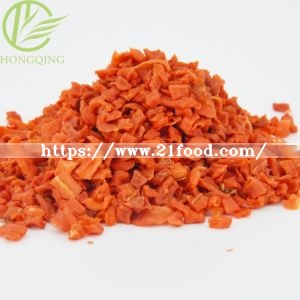 Dehydrated Carrot Granules, Dehydrated Vegetable, Carrot, Air Dried Vegetables