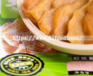 Dehydrated Sweet Potato Slice Vacuum Packaged Sweet Potato