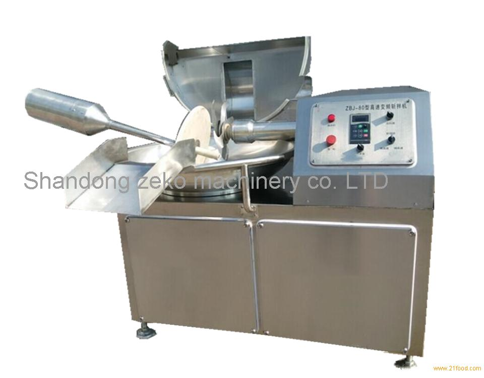 Manufacturers supply small meat cutters / meat bowl cutters