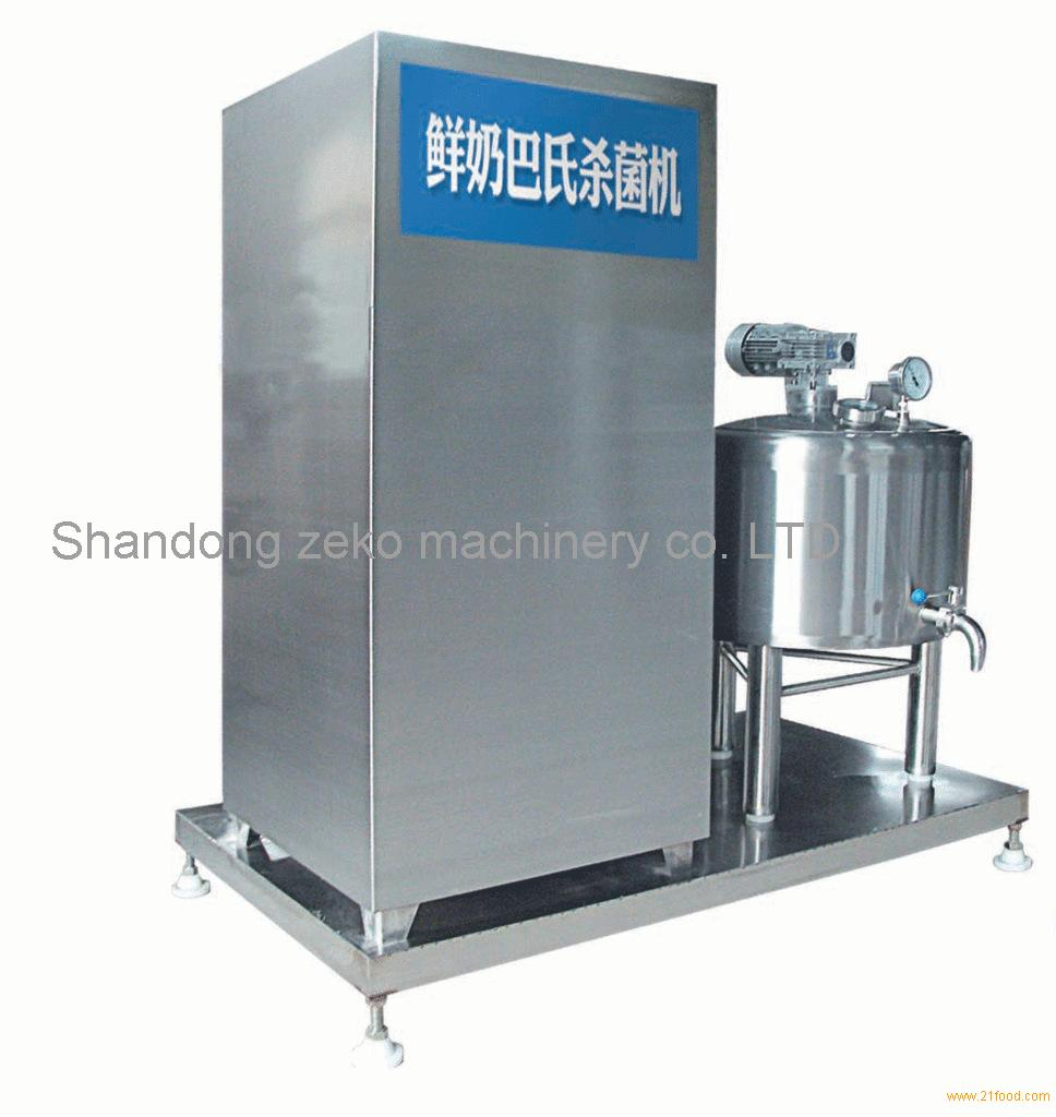 Pasteurized milk sterilizer