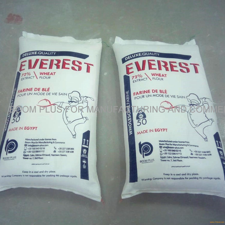 Wheat flour 50 kg Everest brand