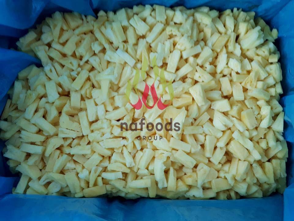 IQF pineapple chunk/tidbit/dice