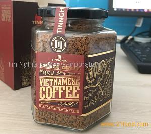 Glass Jar Freeze Dried Instant Coffee