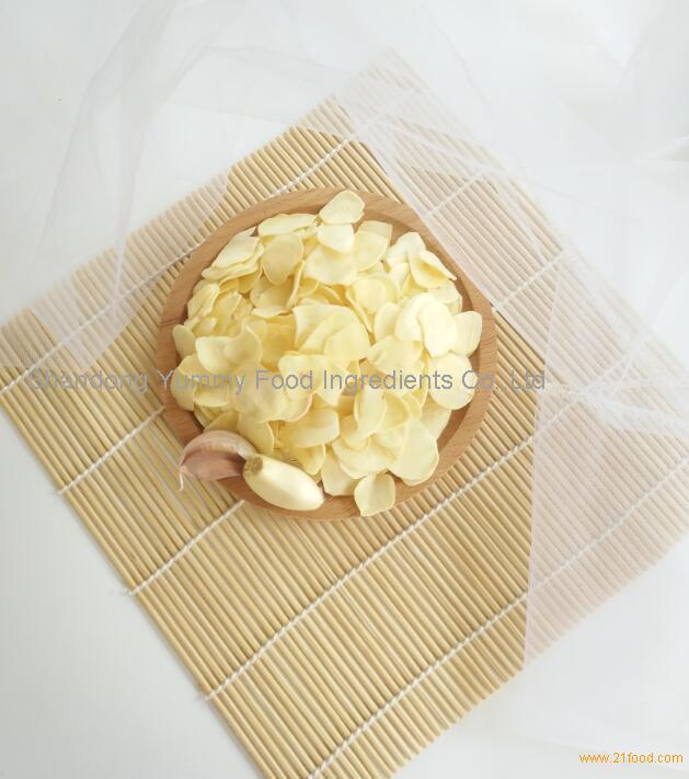 Dehydrated garlic flakes chips crunchy garlic topping