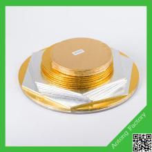 Different shape for fiberboard cake board cake base