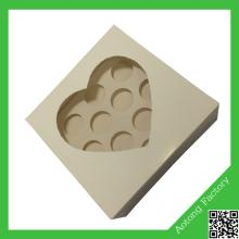 Copy of New shape charm custom made mini cupcake boxes for sale wholesale