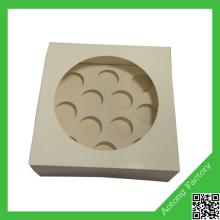 New shape charm custom made mini cupcake boxes for sale wholesale