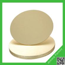Manufacture in Cake board Cake base coated foil on double sides
