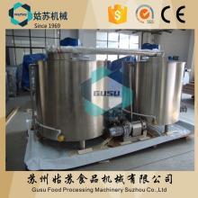 Gusu stianless steel chocolate storage holding tank