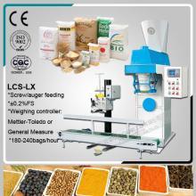 semi  automatic   spice s  filling  line,packing  machine  sugar grains,50kg bag quinoa bagging  machine