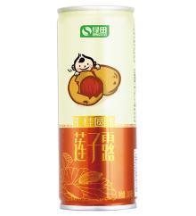 Sacred lotus seed juice drink ( longan )