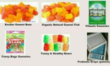 Green Coffee Gummi Bear Halal Gummi Fish Gummi Drops