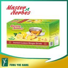 Instant Lemon Flavor Herbal Ginger Tea