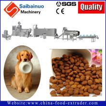 Automatic pet food processing machine