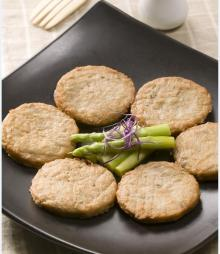 Vegan Burdock Patty/ vegan meat alternative/frozen meat