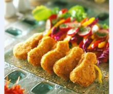 vegan chicken drumstick /mini drumstick / vegetarian meat alternative