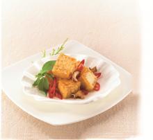 Vegan Fish Flavored Tofu