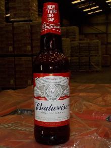 Budweiser 66cl nrb
