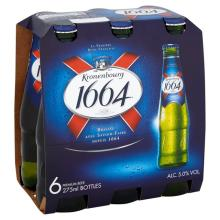 French Lager Kronenbourg 1664 Beer
