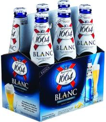 French Origin Kronenbourg 1664 blanc beer in blue 25cl and 33cl