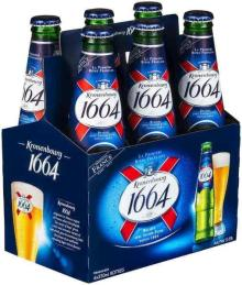 Origin Kronenbourg 1664 blanc beer in blue 25cl and 33cl
