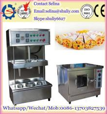 bread bakery equipment/pizza cone making machine/pizza cone box