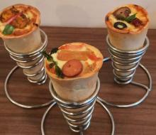 Commercial Stainless Steel automatic pizza cone machine Cone Pizza Making Machine Price