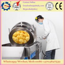Commercial Gas Popcorn Machine Small scale spherical