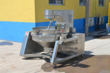 Full Automatic Gas Industrial Jacketed Cooker/Cooking Mixer