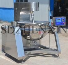Full Automatic Steam Stir Fry Jacketed kettle/Cooking pot for Chilli Sauce