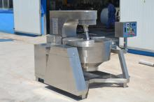 200L Double Layers Industrial Tilting Jacketed Kettle with Mixer