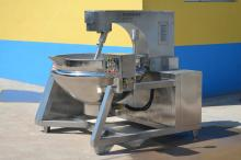 Full Automatic Electric Conduction Oil Jacketed Kettle with Agitator/Cooking Pot