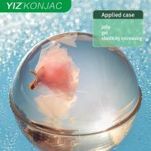 Konjac powder with high transparency