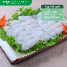 Konjac powder applied in vegetarian foods