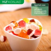 Коньяк глюкоманан используется в пищевой промышленности
